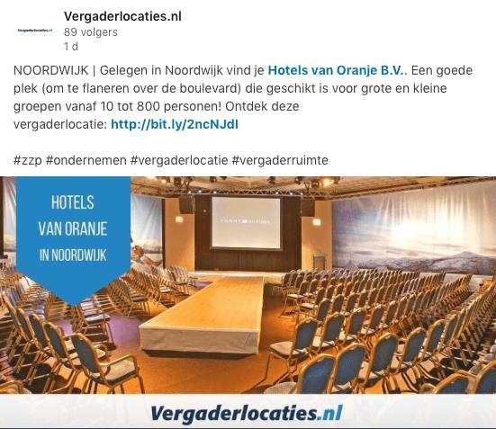 Vergaderlocaties.nl LinkedIn