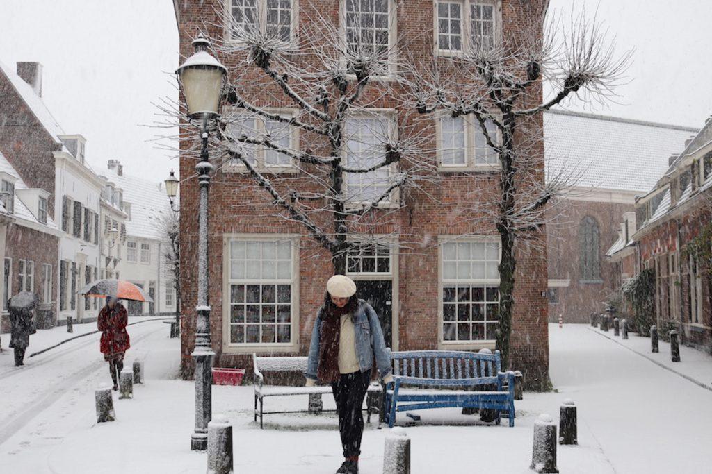 Amersfoort sneeuw